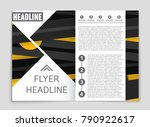 abstract vector layout... | Shutterstock .eps vector #790922617
