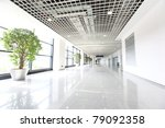 hall of business building with... | Shutterstock . vector #79092358