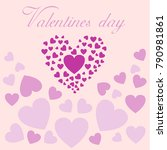 sale  valentine's day  heart | Shutterstock .eps vector #790981861