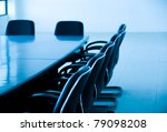 empty business conference room... | Shutterstock . vector #79098208