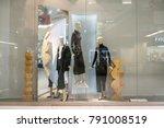 zara shop at emquatier  bangkok ... | Shutterstock . vector #791008519