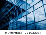 urban abstract   windowed... | Shutterstock . vector #791033014