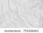 wavy line simple abstract... | Shutterstock .eps vector #791036461