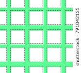 flat line square pattern vector   Shutterstock .eps vector #791042125