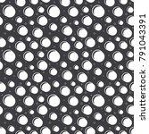 pattern flat line snow vector    Shutterstock .eps vector #791043391