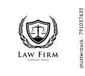 law logo legal logo law office...   Shutterstock .eps vector #791057635