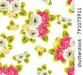 abstract elegance seamless... | Shutterstock . vector #791075911