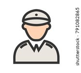 militant  party  war | Shutterstock .eps vector #791082865