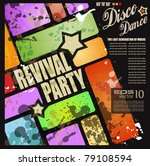 retro' revival disco party...
