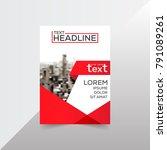brochure design template vector....   Shutterstock .eps vector #791089261