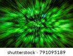 Zoom Burst Of Privet Tree