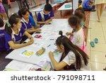 chiangmai thailand.august 12... | Shutterstock . vector #791098711