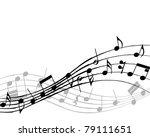 musical design elements from... | Shutterstock . vector #79111651
