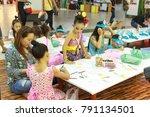chiangmai thailand.august 12... | Shutterstock . vector #791134501