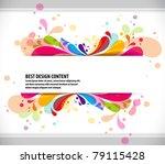 abstract modern banner theme...