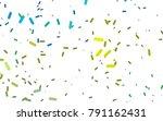 light blue  yellow vector...   Shutterstock .eps vector #791162431