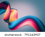 3d render abstract background.... | Shutterstock . vector #791163937