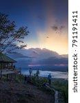 traveler photographer waiting... | Shutterstock . vector #791191411