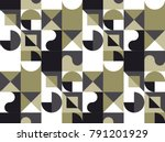 abstract geometry backdrop with ... | Shutterstock .eps vector #791201929