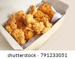 Chicken Nuggets In Paper Boxes