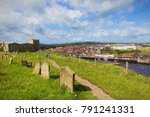 Whitby Abbey And Town North...