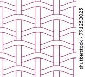 basket weave seamless pattern.... | Shutterstock .eps vector #791253025