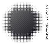monochrome printing raster.... | Shutterstock .eps vector #791267479