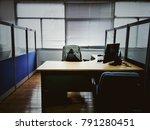internal office space | Shutterstock . vector #791280451