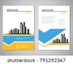 vector modern brochure ...   Shutterstock .eps vector #791292367