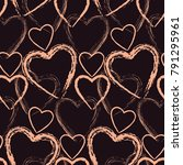 seamless pattern for st.... | Shutterstock .eps vector #791295961