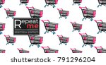 shop online collection. vector... | Shutterstock .eps vector #791296204