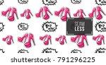 online shopping concept. vector ... | Shutterstock .eps vector #791296225