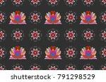raster illustration. gentle ... | Shutterstock . vector #791298529