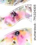 abstract modern background.... | Shutterstock . vector #791324305