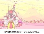 vector wonderland fairytale...