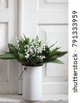 bouquet of lily of the valley... | Shutterstock . vector #791333959