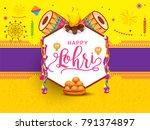 illustration of punjabi... | Shutterstock .eps vector #791374897