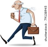 a vector illustration of an old ... | Shutterstock .eps vector #79138945