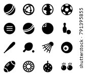 origami style icon set   ball... | Shutterstock .eps vector #791395855