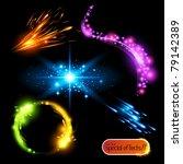 vector special effects 2   Shutterstock .eps vector #79142389