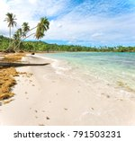 panorama of famous secluded... | Shutterstock . vector #791503231