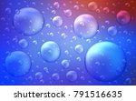 light blue  red vector... | Shutterstock .eps vector #791516635