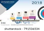 business infographics report ... | Shutterstock .eps vector #791536534