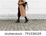 women's legs. woman wearing... | Shutterstock . vector #791538109