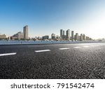 panoramic skyline and buildings ... | Shutterstock . vector #791542474