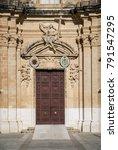 Traditional Church Door...