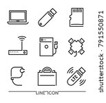 Computer Devices Icons. Pc...
