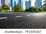 empty asphalt road front of... | Shutterstock . vector #791554267