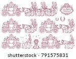 vector little princess trendy...   Shutterstock .eps vector #791575831