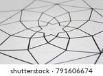 drawing of geometrical design.... | Shutterstock . vector #791606674
